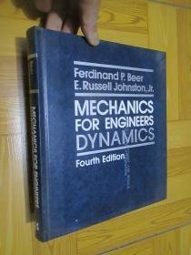 Mechanics For Engineers: Dynamics  (Fourth Edition)  16开,精装