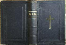 德文原版书 die bibel 1925年出版/ 德文圣经/新约/旧约