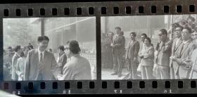 1986年,安徽第一个保险宣传月首日仪式场景的135底片四张