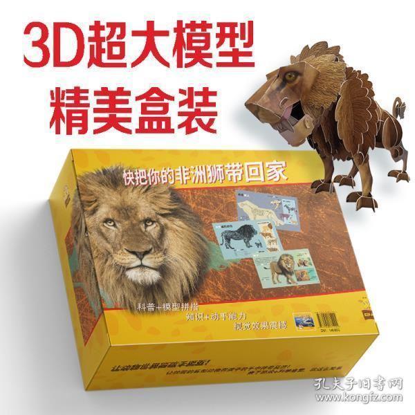 给孩子的超级模型 狮子