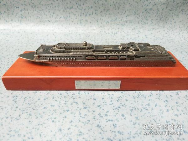 艦船模型 1 【底座21*6.5*2厘米】