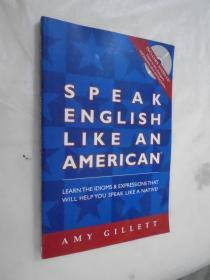 Speak English Like an American (Book & Audio CD set) 英文原版 带CD一张