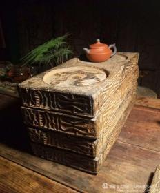 汉代老砖后加工四神砖砚壶承一套,青龙白虎朱雀玄武 一个900,可以任选