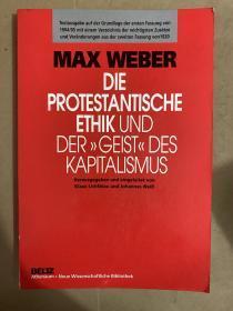 Die protestantische Ethik und der' Geist' des Kapitalismus