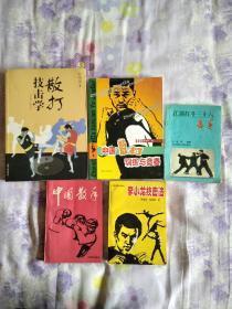 中国散手,李小龙技击法等五本合售