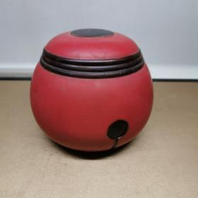 日本围棋罐漆器盖罐