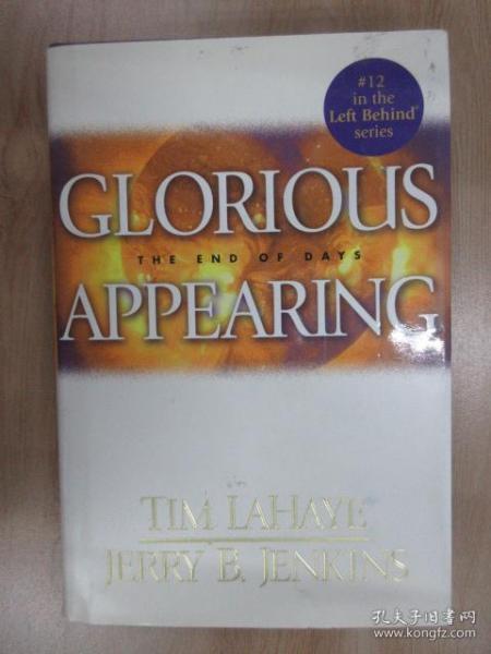 外文书  GLORIOUS  APPEARING  TIM  LAHAYE  JERRY  B.  JENKINS(精装16开,共399页)