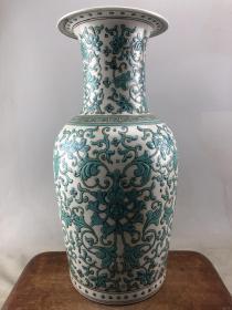 乡下收来的花卉大瓷瓶B3926