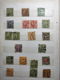 民国邮票一堆5641