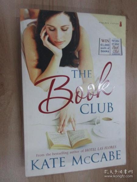外文书  THE  BOOK  CLUB  KATE  MCCABE(16开,共390页)