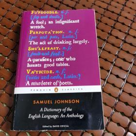 A Dictionary of the English Language:An Anthology