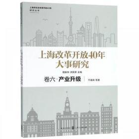 上海改革开放40年大事研究:第六卷 产业升级
