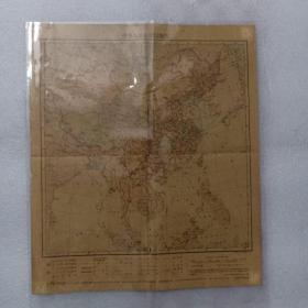 中华人民共和国地图(1963年2月)