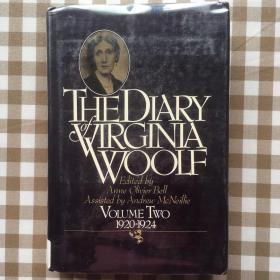 《伍尔夫日记》卷二(The Diary of Virginia Woolf Volume Two 1920-1924)