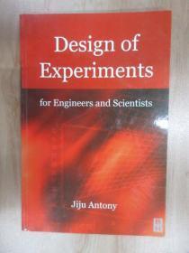 外文书  Design  of  Experiments(共152页,16开)