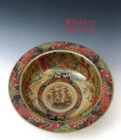 旧藏     珐琅彩聚宝盆