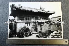 大约1980年代淹没在北京民居中的古寺照片,记得曾经见过报道这座寺院后来的情况。惜不记得其名字了。29.7X21厘米
