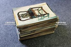 资料照片一组297张左右,都是古典款式家具,条案,圈椅,柜子,箱子等,尺寸均为12.7X8.6厘米左右,现代洗印