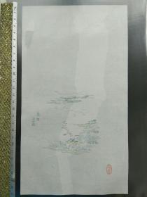 民国荣宝斋木版水印十竹斋笺纸