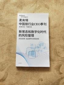 麦肯锡中国银行业CEO季刊 新常态和数字化时代的风险管理