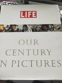 LIFE:OUR CENTURY IN PICTURES布面精装【包括整个20世纪全球画册】423页大量珍贵资料图片