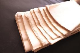 日本7-80年代和纸 老宣纸 单宣  各种约150张98*67cm  N661