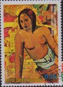 外国邮票:1枚销票 (7)