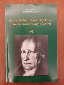Georg Wilhelm Friedrich Hegel: The Phenomenology of Spirit(全新进口原版,国内现货)