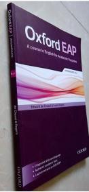 正版8成新 Oxford EAP: Intermediate / B1+ 9780194002011