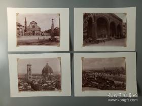 伍德伯里照相法20世纪初老照片11张,粘贴于软卡纸,卡纸为后配!照片尺寸25*18.2厘米,后背纸尺寸35.5*25.3厘米