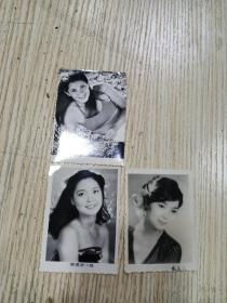 邓丽君老照片 3张合售(注:其中一张不知是不是,自鉴)