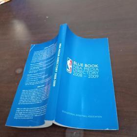 BLUE  BOOK  NBA  MEDIA  DIRECTORY  2008-2009