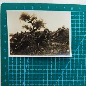 民国时期 老照片 侵华日军侵略中国 行军照片 11张合售