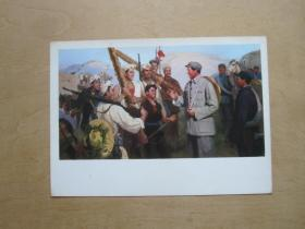 文革时期宣传画—铜墙铁壁(油画)