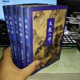 金庸作品集:天龙八部(一二三四五)五册全 21.22.23.24.25【有水渍】
