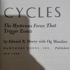 Cycles, The Mysterious Forces that Trigger Events