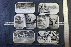 民国上海外国驻华士兵拍摄老照片十三张,日常生活训练不乏诙谐搞笑的一面。 A