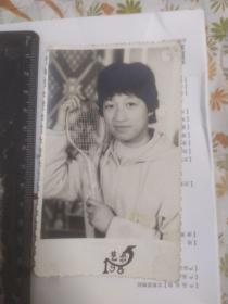 羽毛球手(艺术照)