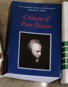 [英文 包邮](权威版专业研究版)康德《纯粹理性批判》(剑桥译本)Critique of pure reason