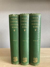 The Poetical Works of William Cowper 三册全