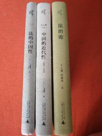 新民说 法的中国性 中国的近代性 法治论
