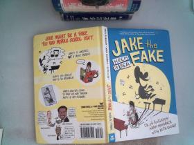 Jake the Fake Keeps it Real (精装原版外文书)