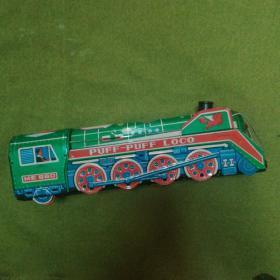 怀旧铁皮玩具火车  (七、八十年代)