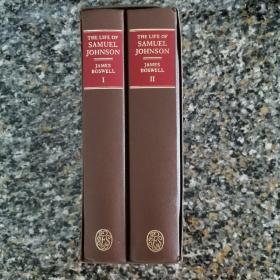 《约翰逊博士传》英国文学经典著作 古今传记第一 文学爱好者的枕边书 常读常新 英国folio society出版 大开本巨厚 私藏干净漂亮带完整书匣