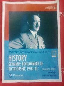 EDEXCEL INTERNATIONAL GCSE (9-1)HISTORYGERMANY:DEV