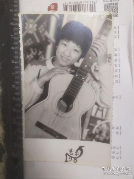 吉它手(艺术照)