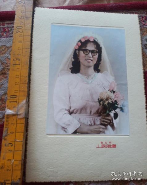 内蒙古包头美女照片三张合售