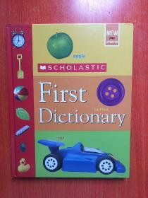 Scholastic First Dictionary  学乐第一本词典  16开 精装