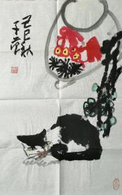 【崔子范】大写意花鸟画,68厘米//68厘米和68厘米//45厘米,一共九副,标价为单副,打包优惠!喜欢的私聊