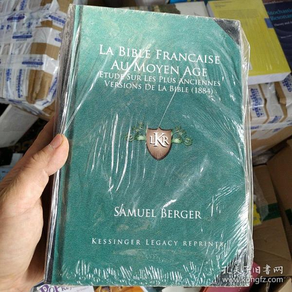 LA BIBLE FRANCAISE AU MOYEN AGE(1884)